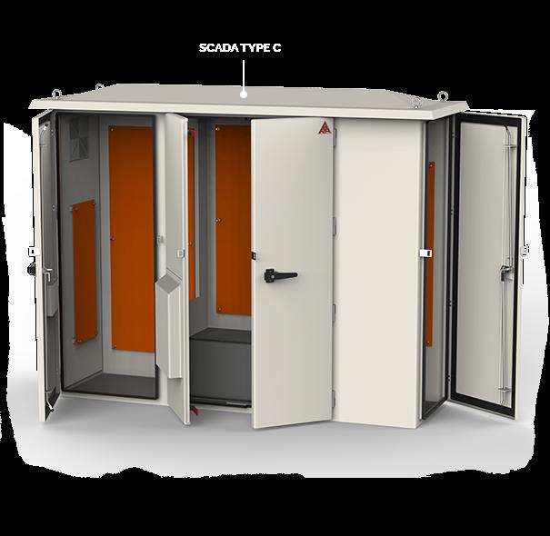 Weatherproof Polyester GRP/FRP DEWA Enclosure range