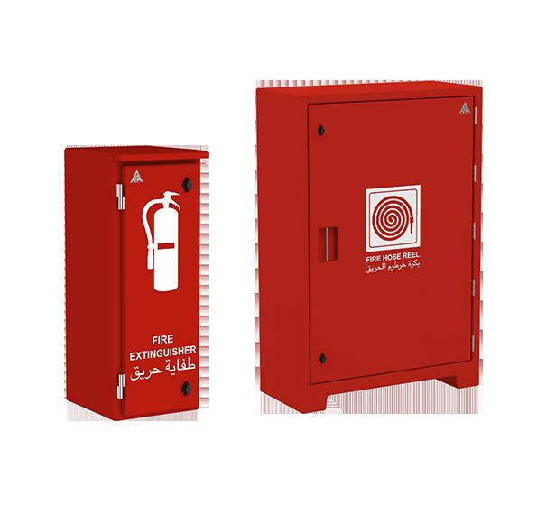 Weatherproof Polyester Grp Frp Fire Cabinet Range