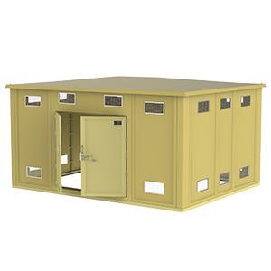 Weatherproof Polyester Grp Frp Package Substation Range